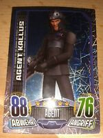 Force Attax Star Wars Rebels Glitzerkarte Nr.164 Agent Kallus Sammelkarte