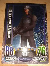 Force Attax Star Wars Rebels Glitzerkarte Nr.164 Agent Kallus Sammelkarte