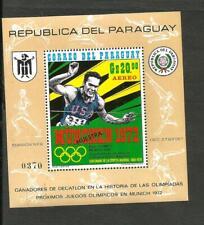 PARAGUAY - OLYMPIC MI # BL 158, SPECIMEN, MNH, VF