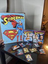Superman Fan Pack Doomsday Cards Vintage Sign Adventures Of Superman