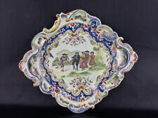 Collection assiette décorative Mont-Dore (1799 ex ) Scène populaire musiciens