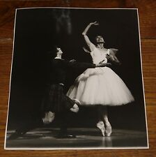 MARGOT FONTEYN RUDOLF NUREYEV NEWSPAPER PRESS PHOTO PHOTOGRAPH 5 WITH STAMPS