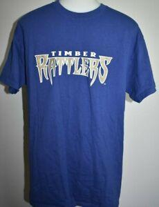 Wisconsin Timber Rattlers Shirt Medium Minor League Baseball Milwaukee Brewers