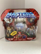 2003 Masters Of The Universe Wolf Armor He-man Snake Armor Skeletor Exclusive 2
