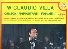 CLAUDIO VILLA disco LP 33 giri CANZONI NAPOLETANE made in ITALY