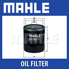 Mahle Oil Filter OC983 - Fits Alfa Romeo, Fiat - Genuine Part