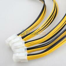 5x ATX 4 Pin Male to 8 Pin Female Adapter EPS Power Supply Cable Adapter Hot #3Y