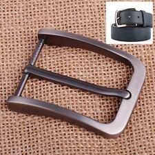 40mm  Stainless Steel Pin Single Belt Buckle for Men Leather Belt Waist Strap