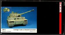 KIRIN SCALE MODEL 28513 - TIGER 1 Late w/ZIMMERIT CONVERSION SET 1/35 RESIN KIT