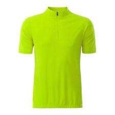 James & Nicholson Hombre Bicicleta Jersey Camisa Bmx de montaña NEON radsp