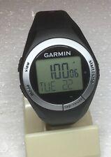 Garmin ForeRunner 50 Activity Tracker Watch Black Case & Band  GUC Med/Lrg Band