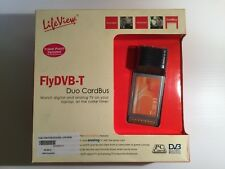 Tarjeta Sintonizadora PCMCIA LiveView FlyDVB-T Duo CardBus LR502TAR PC Card