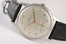 Omega 30! Vintage iconic watch! big 35mm steel case! Stunning!