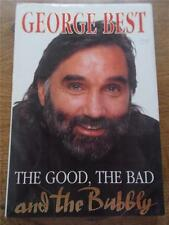 Signed GEORGE BEST Book The Good The Bad & The Bubbly Signature Man Utd Football