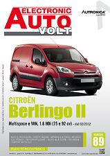 Manuale Diagnosi elettrica ed elettronica auto - Citroen Berlingo Multispace Van