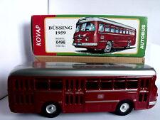 Modellino in latta KOVAP DEUTSCHE BUNDESBAHN BUSSING BUS 1959