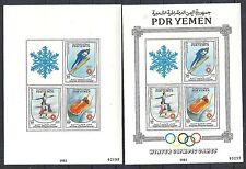 South Yemen 1983 MI Bloc 24+ ERROR Bloc Olympics  MNH  VF