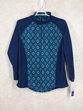Great Northwest Indigo Xl Fleece size xl Long Sleeve Shirt blue