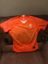 Nike Netherlands Orange Soccer Jersey Msrp$90.00 NWT Size Large Womens