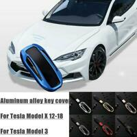 For Tesla Model X Remote Key Shell Case Cover Protector With Z6L5 Fob Alloy Hot