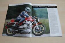 Motorrad Classic 1833) MV Agusta 750 S America mit 75PS in einer seltenen Vors