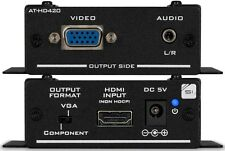 Atlona AT-HD420 HDMI to VGA/Component and Stereo Audio Format Converter