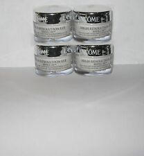 4 Lancome High resolution EYE Refill 3x anti-wrinkle cream more than .5 oz  New