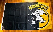 MSF Metal Gear Solid Flag Militaires Sans Frontieres Big Boss Cosplay