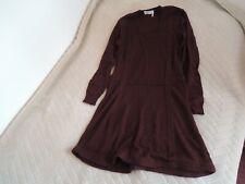 Robe bordeaux Sonia by Sonia Rykiel Dress.T 36.345 euos.Un essentiel!esprit chic