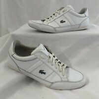 Men's Shoe Lacoste Sport Fashion Sneaker WHITE Size 11