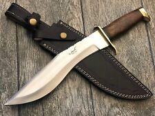 "ASH J75 CUSTOM HANDMADE HUNTING KNIFE 440C STEEL 15"""