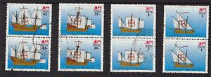 Macau postage stamps - 1993 - 16th Century Sailing Ships  SG 820/823 (M4)
