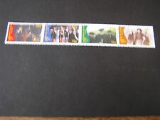 IRELAND, SCOTT # 1028-1031(4), STRIP OF 4 1996 CENTENARY MOTION PICTURES USED