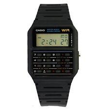 Men's Watch Classic Casio Calculator Vintage 8 Digit Stopwatch Water Resistant