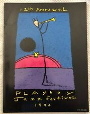 1990 RARE Playboy Jazz Festival Program Magazine