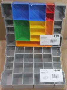 2 Sortimo Insetboxen Sets H3 K3 für Bosch Sortimo L-Boxx Einsatzboxen