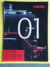 Catalogue MARKLIN insider 2003 F - la BR 01 à l'echelle 1 - poster 16 pages