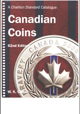 """DIGITAL BOOK """"CANADIAN COINS PRICE GUIDE"""" CHARLTON STDR CATALOGUE BY W.K. CROSS"""