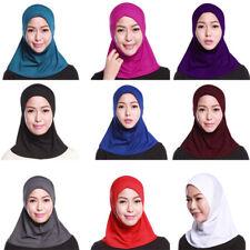 Unterarm Schal Hijab Ninja Kinder Schöne Tücher Soft Wrap Muslimisch Islamisch