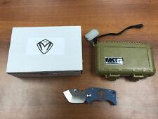 Medford MKT Panzer-Stubby Tanto D-2 Blade w/custom laser engraved handle *New*