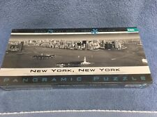NEW YORK, NEW YORK Panoramic Puzzle Over 3 Feet Wide 750 Pieces NYC Harbor NIB