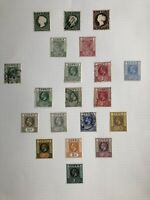 GAMBIA Stamp Collection On 6 Pages