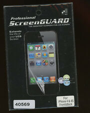 Screen Guard Professional for LCD for iPhone 4 & 4S Front & Back New B-0-17