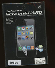 iPhone 4 & 4S Screen Guard Professional for LCD Front & Back in U.S.   B-6-9