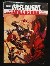 Marvel Onslaught Unleashed Graphic Novel Hardcover (Sealed)