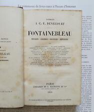 Fontainebleau, Paysages-Légendes-Souvenirs-Fantaisies éd.1855