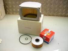 Filtro aceite + filtro de aire nuevo made in japan new air Cleaner + oil filtro XJ 650 750 seca