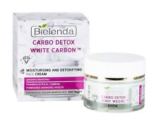 Bielenda White Carbon Moisturising Detoxifying Face Cream Mixed Oily Skin 50ml