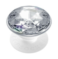 ORIGINAL PopSockets 2 Gen. Austauschbar PopSocket Disco Kristall Silber [800925]