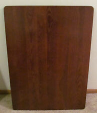 "Ash Hardwood RV Table Top Stained CHERRY Booth Dinette USA 28"" x 38"" Motorhome"